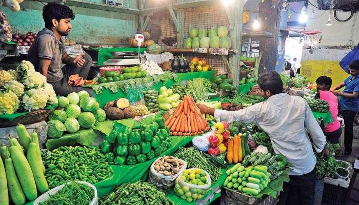 मार्केटमध्ये भाज्यांचे भाव घसरले, व्यापारी, शेतकरी हवालदिल