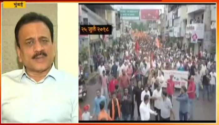Mumbai Girish Mahajan On Maratha Reservation