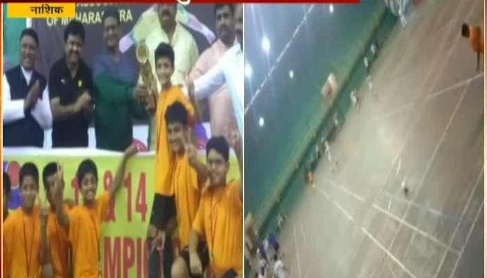 Nashik Palghar Team Win Footsal Compition