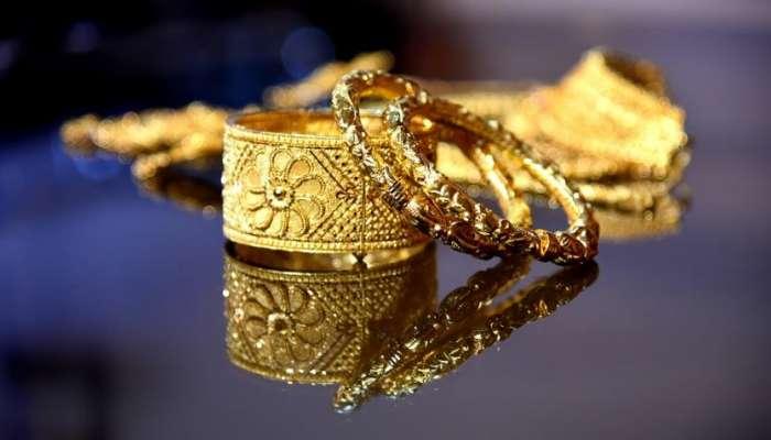 सलग तिसऱ्या दिवशी सोनं घसरलं, सोन्याचा आजचा भाव