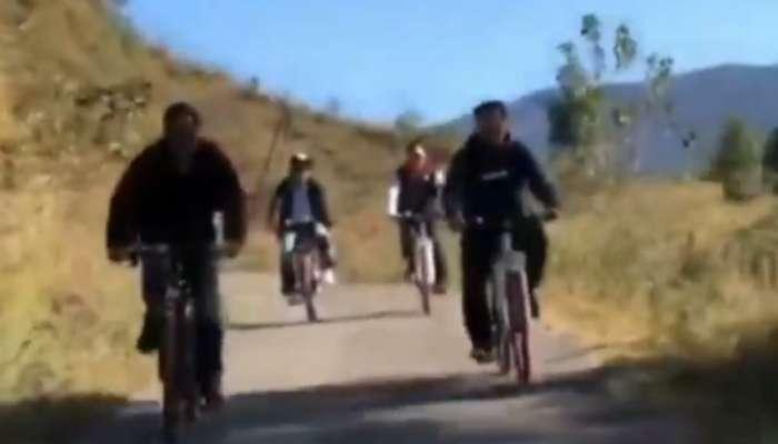 सलमान खान भाजपच्या नेत्यांसोबत सायकलवरून फिरतो तेव्हा...