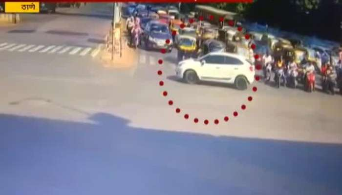 Thane Arrogant Car Driver Not Obeying Traffic Rules Traffic Police Filed FIR Against Driver
