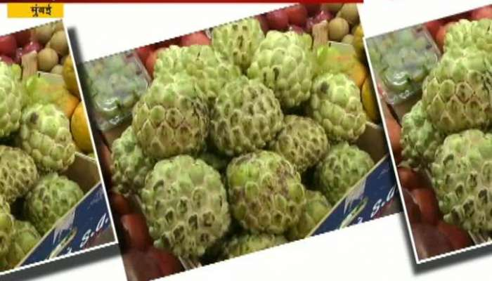 Mumbai People Crazy For Imported Fruit As They Are Sold Expensive With Same Taste.mp4