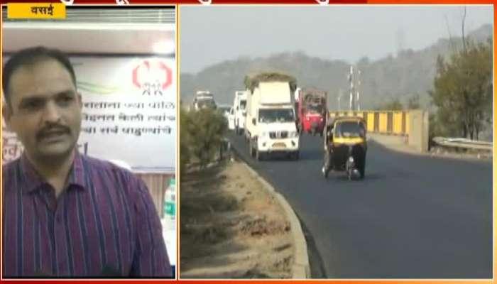 Vasai Versova Creek Bridge Opened For Traffic.