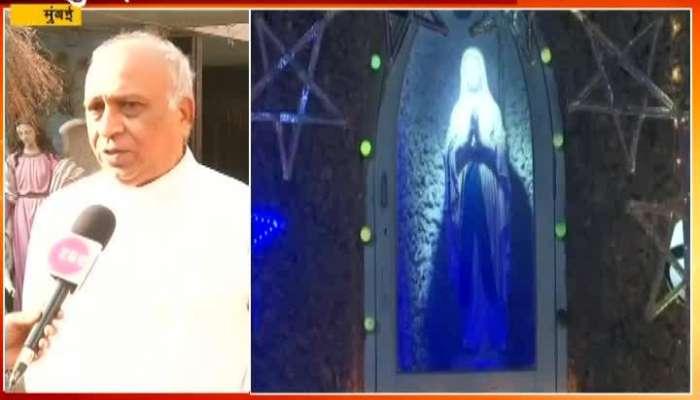 Mumbai Dadar Portuguese Church Father On Celebrating Christmas