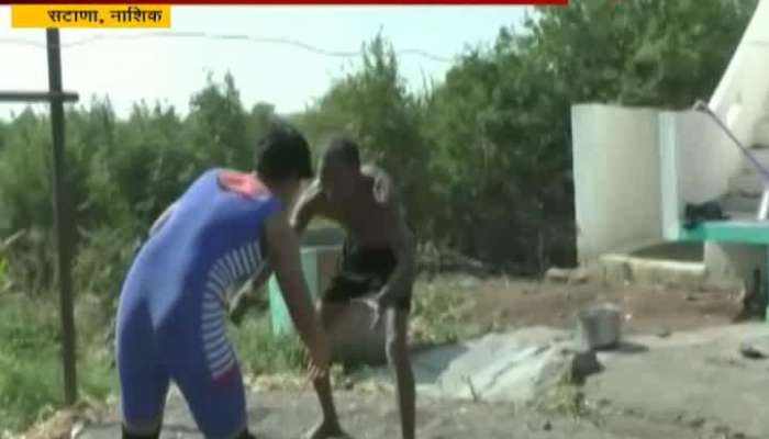 Nashik Satana Father Sold Land For Daughter To Learn And Aim For Gold In Wrestling
