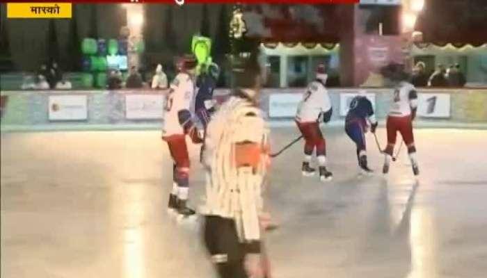 Vladimir Putin Shows Odd Ice Hockey Skills In Moscow_s Res Square
