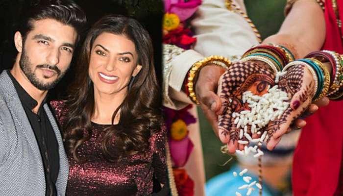 PHOTO : 'बाहुबली' विवाहसोहळ्यासाठी प्रियकरासह जयपूरला पोहोचली सुष्मिता