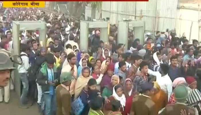 Huge Crowd For Koregaon Bhima Battle Anniversary Celebration In Pune