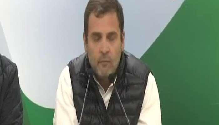 New Delhi Rahul Gandhi PC