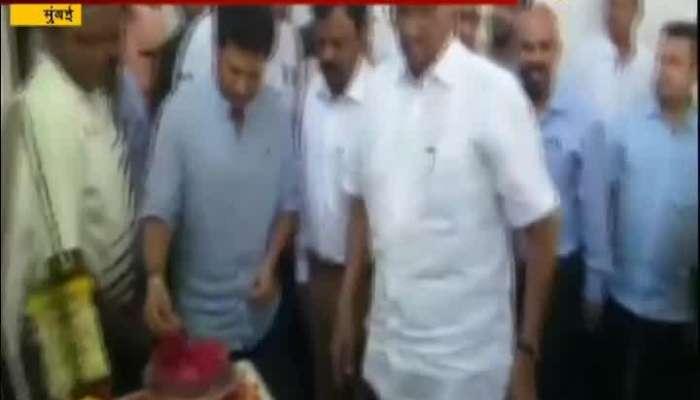 Mumbai Sachin Tendulkar,Sharad Pawar And Others Pay Tribute To Late Coach Ramakant Achrekar