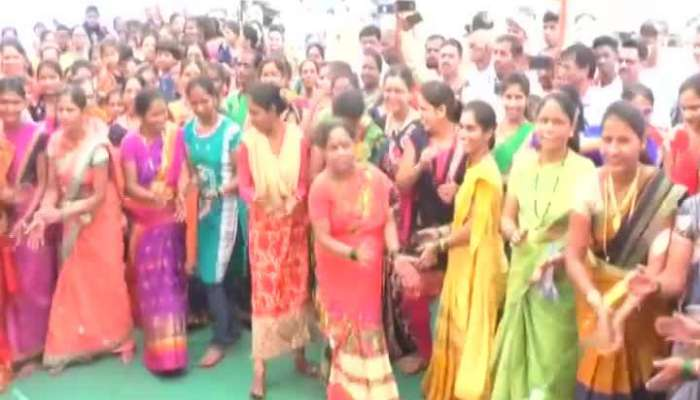 Raigad,Mangaon Villegers Enjoy With Their Traditions