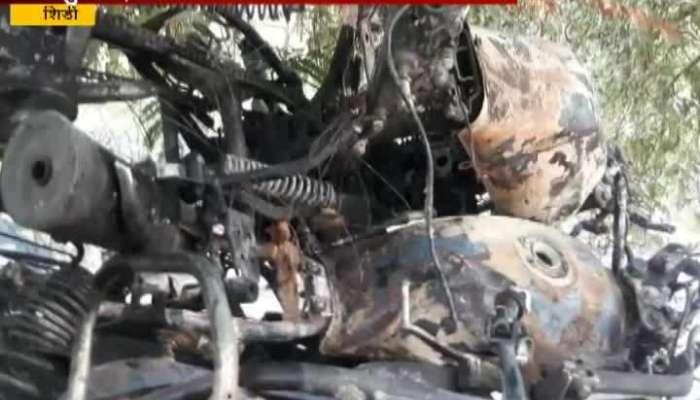 Shirdi,Sangamner Fight Between 2 Group In Kumbharwadi Burn 9 Two Wheeler