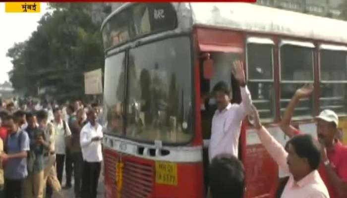 Mumbai Best Strike Call Off After Assuring 10 Step Increament To Best Workers