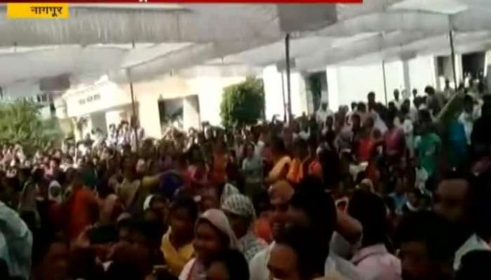 bjp and ncp workers fight in katol nagpur