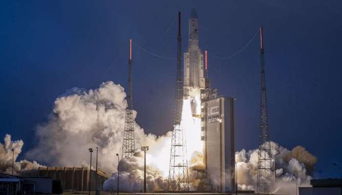 भारताच्या दूरसंचार उपग्रह GSAT-31चं यशस्वी प्रक्षेपण
