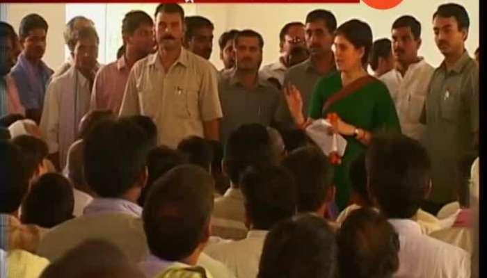 Priyanka Gandhi Mega Show Of Strength In Uttar Pradesh Starts congress loksabha elections 2019