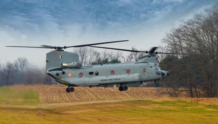 अवघ्या चार वर्षांत 'चिनूक' हेलिकॉप्टर भारतात दाखल