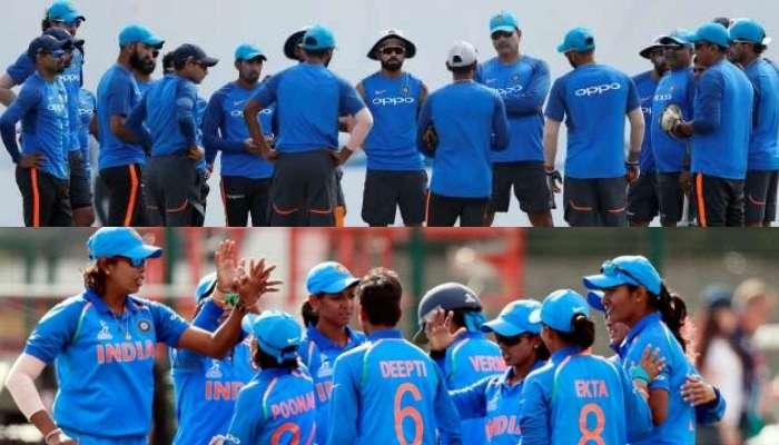IndvsNZ : भारतीय पुरुष आणि महिला टीमच्या पराभवातील विचित्र साम्य