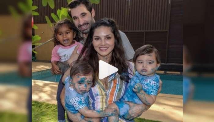 VIDEO : मुलांच्या वाढदिवसाच्या निमित्ताने सनीची भावनिक पोस्ट
