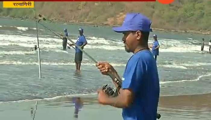 Ratnagiri Fishing Contest Organised For Tourism Development At Guhagar