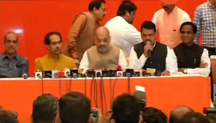 Mumbai Shivsena BJP Joint PC