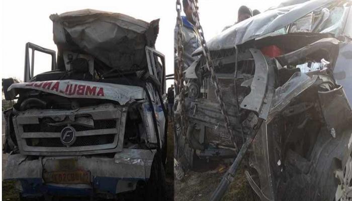 यमुना एक्सप्रेस-वेवर भीषण अपघात, 7 जणांचा मृत्यू 4 जण जखमी