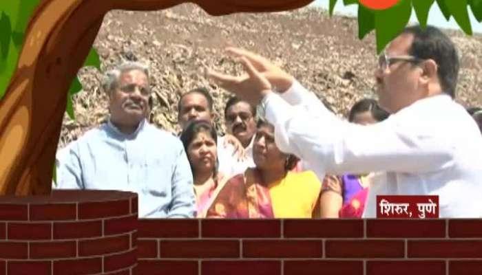Ransangram Paravarchya Gappa Shivsena Shivajirao Adhalrao Patil Pune Shirur Election Constituency