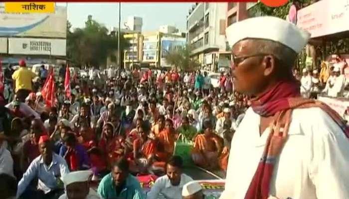 Nashik MLA JP Gavit On Farmers And Adivasi Andolan And Long March To Mumbai