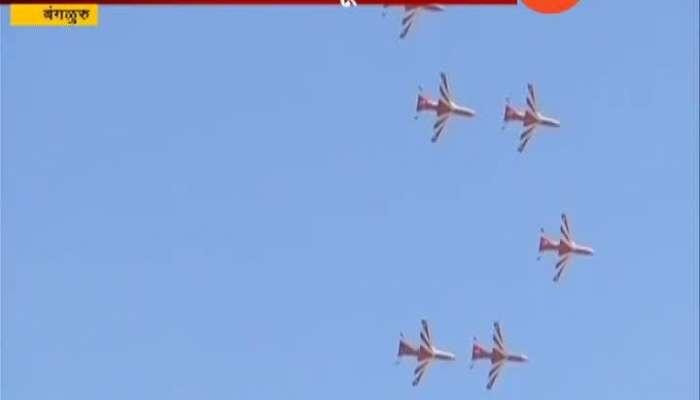Surya Kiran Team_s Spectacular Air Show In Bengaluru