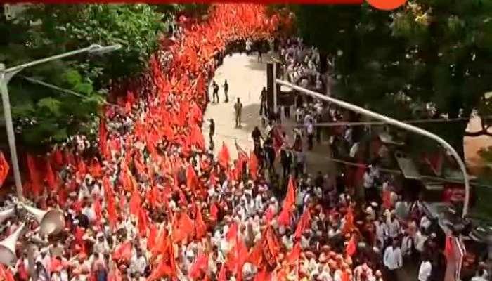 Mumbai Maratha Kranti Morcha Critics On BJP Govt Update