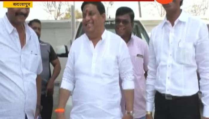Badlapur Shivsena Oppose MP Kapil Patil Update