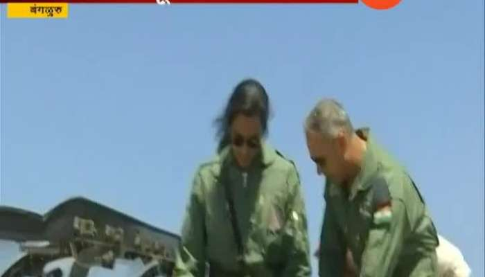PV Sindhu Flies In Made In India Tejas Fighter At Bengaluru Air Show