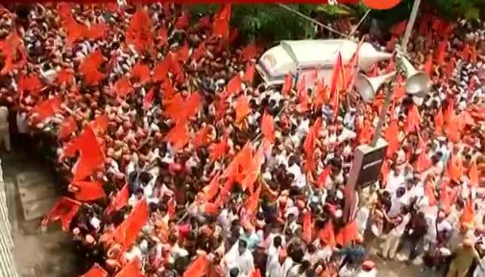 Mumbai Maratha Kranti Morcha Critics On BJP Govt