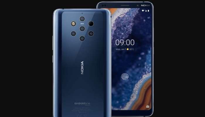 MWC 2019  : पाच कॅमेऱ्यासहीत Nokia 9 PureView लॉन्च, जाणून घ्या किंमत