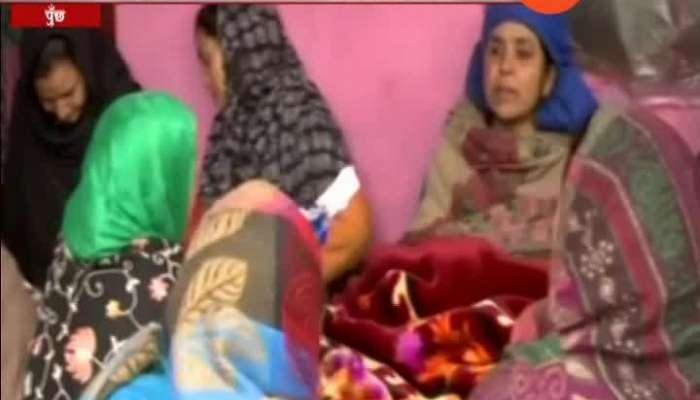Kashmir,Poonch Ceasefire By Pakistan 03 Civilians Dead