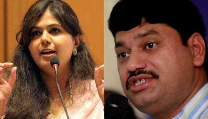 'चिक्की' नंतर पंकजा मुंडेंवर मोबाईल गैरव्यवहाराचा धनंजय मुंडेंचा आरोप