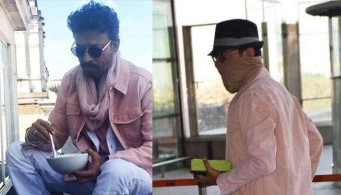 8 महिन्यांनंतर इरफान खान मुंबई एअरपोर्टवर स्पॉट