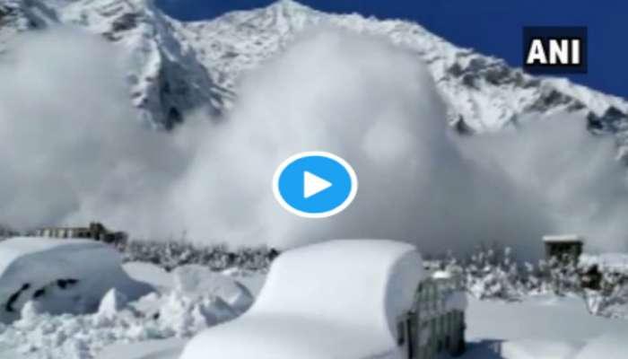 VIDEO : स्पितीच्या खोऱ्यात सफेद वादळ, पाहा अंगावर काटा आणणारा 'हा' व्हिडिओ