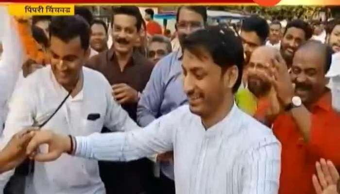 Pimpri Chinchwad NCPs Parth Pawar Dancing On Iscon Hare Krishna Song