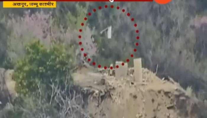Jammu Kashmir Akhnoor Indian Security Forces Destroyed Pakistan Border Post