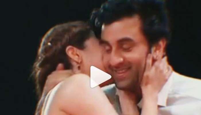 VIDEO : रणबीर- आलियाच्या 'त्या' किसचा किस्सा व्हायरल