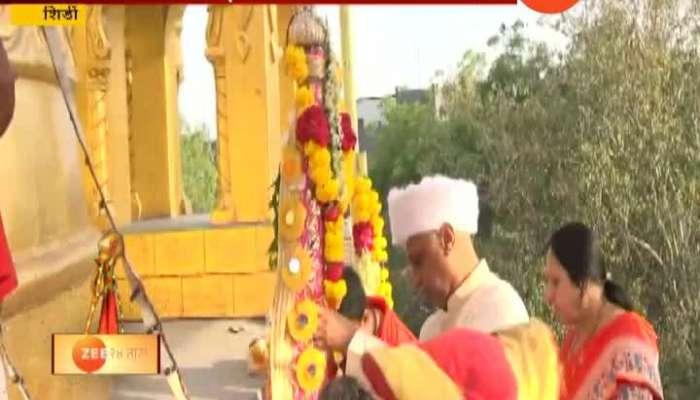 Shirdi Gudi Padwa Sai Temple celebrated Gudi Padwa Festival