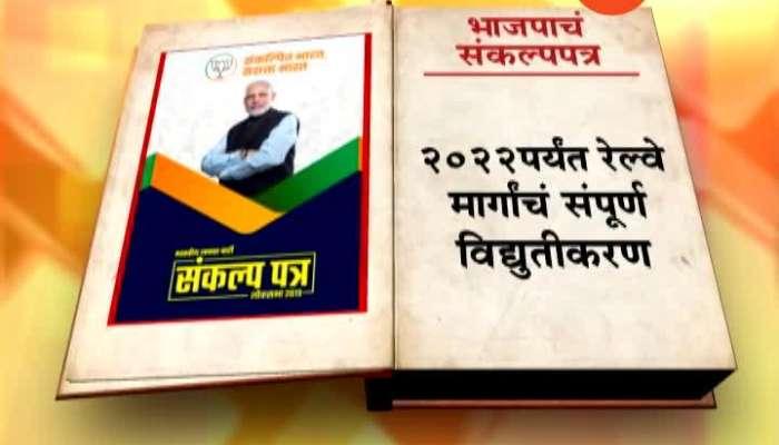 Graphical Representation Of BJP Sankalp Patra