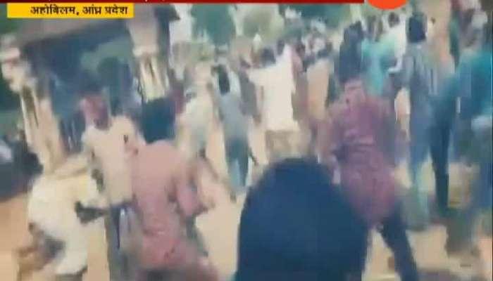 Andhra Pradesh Clashes Between TDP And YSR Congress Party