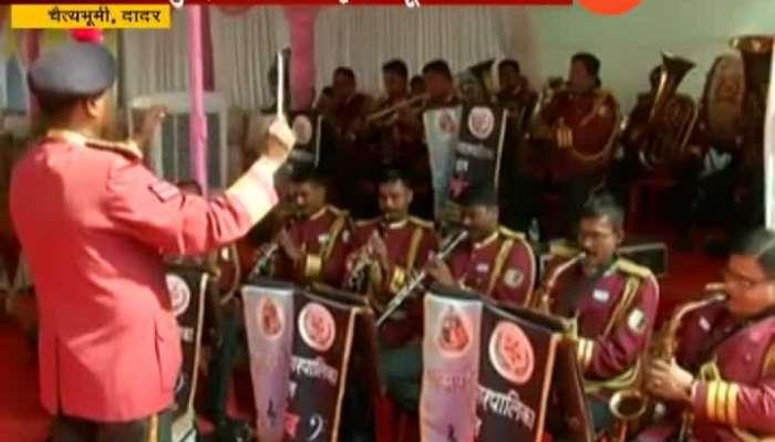 Mumbai,BMC_s Band Tribute To Dr. Babasaheb Ambedkar On 128th Jayanti At Chaityabhumi,Dadar