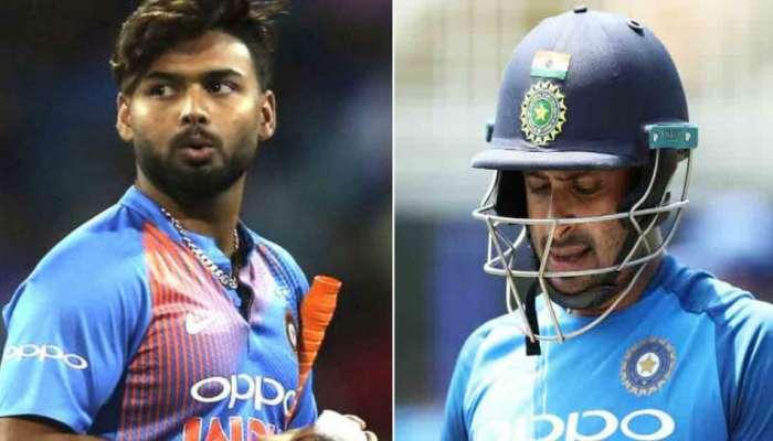 India World Cup Team 2019: म्हणून रायुडू-पंतचं वर्ल्ड कप खेळण्याचं स्वप्न भंगलं