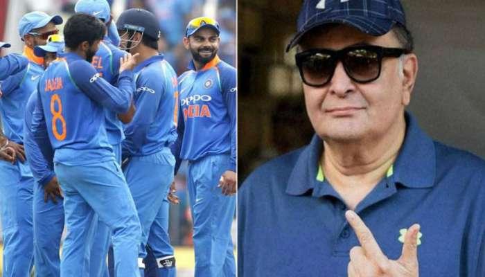 World Cup 2019 : भारतीय क्रिकेट संघाविषयी हे काय म्हणाले ऋषी कपूर ?