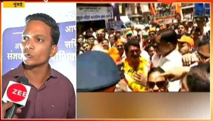 Mumbai Shiv Sena Candidate Arvind Sawant Returns Back From BDD Chawl
