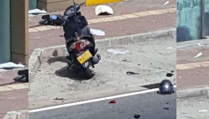 श्रीलंका पुन्हा एकदा स्फोटानं हादरलं, मोटारसायकलवर आढळली स्फोटकं
